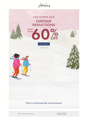 Joules (US) - Further reductions now up to 60% off