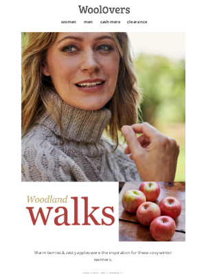 WoolOvers (UK) - Woodland Walks Are The Order Of The Season.