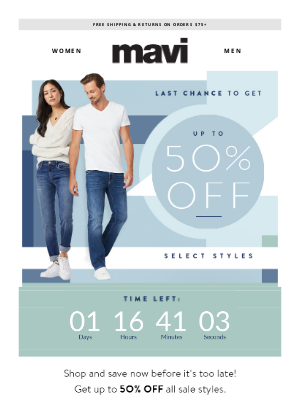 Mavi - Last Chance To Save Up To 50%