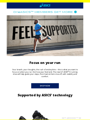 ASICS (UK) - Introducing the NEW GT-2000™ 9 shoe