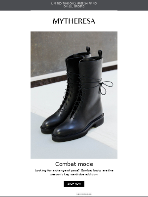 My Theresa (UK) - Wanted: the perfect pair of combat boots + limited time free shipping