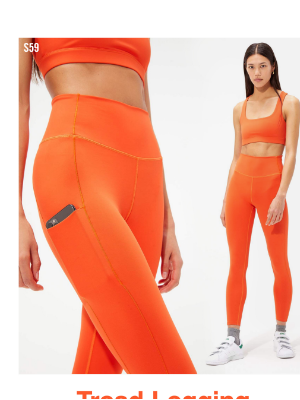SPLITS59 - FIRE UP IN OUR NEW TREAD LEGGING.