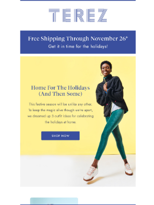 Terez - What to wear for every holiday occasion this year