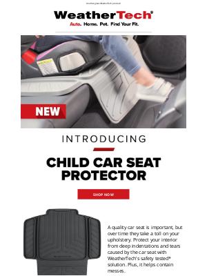 WeatherTech - Introducing: Child Car Seat Protector
