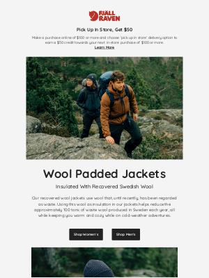 Fjällräven - Recovered Wool Jackets