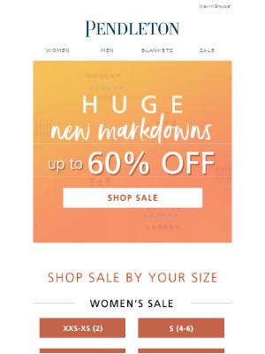 Pendleton Woolen Mills - Your size, 60% off