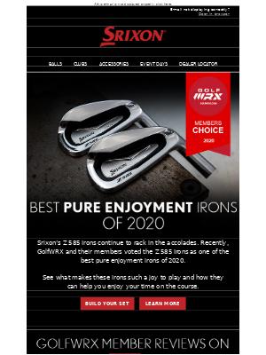 Srixon Z 585 Irons | Best Pure Enjoyment Irons