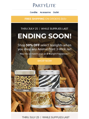 PartyLite - Last Chance for these AMAZING Deals!