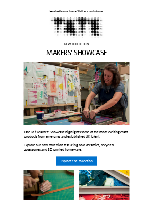 Tate (UK) - Celebrating craft from across the UK