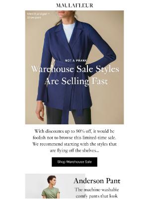 MM.LaFleur - This sale is no joke.