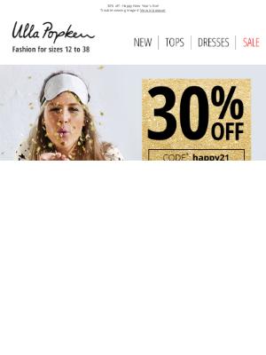 Ulla Popken USA - 🎉 New Year's Eve Shopping Deals
