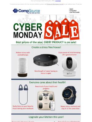 CompSource - CYBER MONDAY Starts Now! Unbelievable Deals Inside!