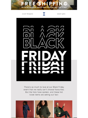 Kit and Ace - Meet our Black Friday best sellers