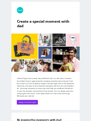 Canva - Celebrate moments with dad this Father's Day