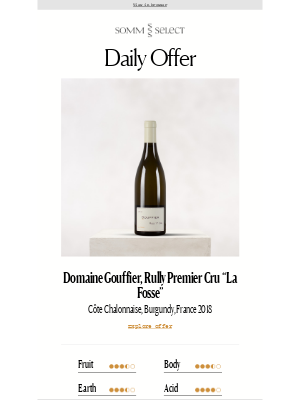 SommSelect - Premier Cru Opulence, Village-Level Price