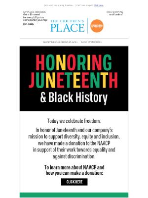 Crazy 8 - Honoring Juneteenth & Black History