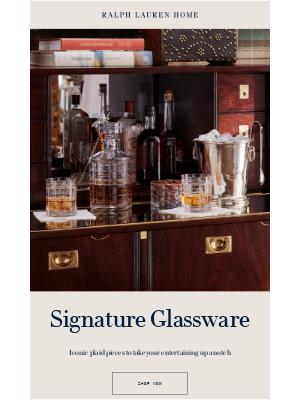 Ralph Lauren - Elevate Your Home Bar