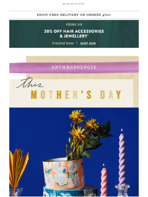 Anthropologie (UK) - To mum, with love 💌