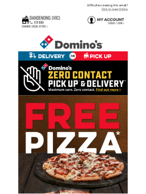Domino's Pizza Enterprises (AU) - Need Dinner Ideas? How About 2-4-1* Pizzas!