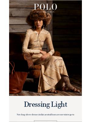 Ralph Lauren - New Dresses of the Season