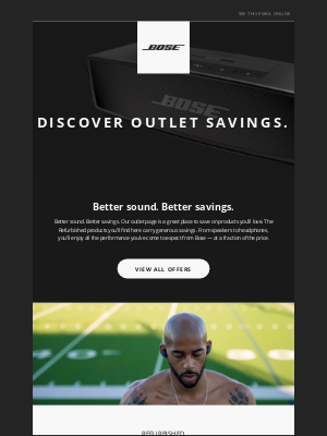 Bose - Always stepping it up