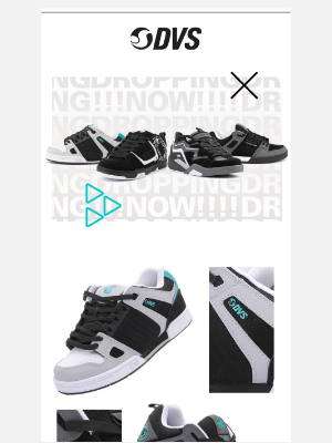DVS Shoes - New Line Up is HERE!