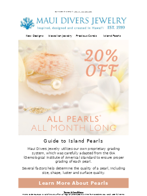 20% off Pearls: Find your favorite!