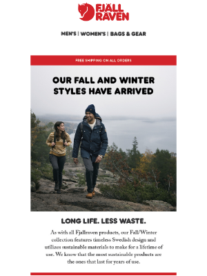 Fjällräven - New Fall Winter Styles Have Arrived