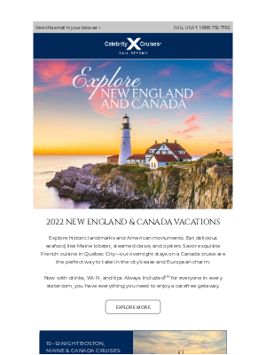 Celebrity Cruises - Calling All Foodies 🦞 From Maine lobster to exquisite French cuisine.