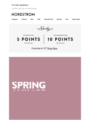 Nordstrom - New-season styles from Free People, Madewell, Levi's and more