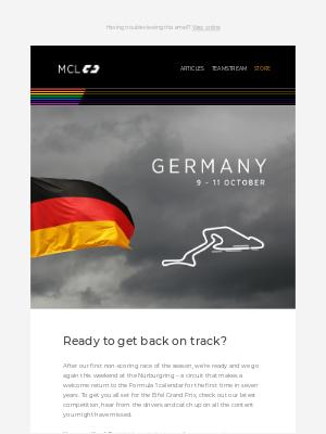 McLaren - The return of the Nürburgring 👌
