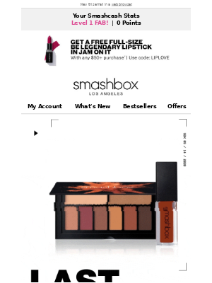 Smashbox Cosmetics USA - Who Doesn't Love a Sale?