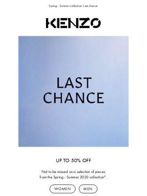 Kenzo - Do not miss the summer selection | Up to 50% off