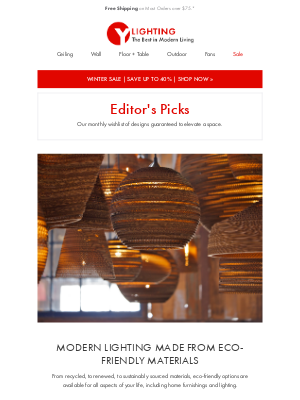 YLiving - Our Top Picks for Eco-Friendly Lighting.
