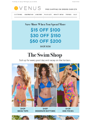 VENUS Fashion - Don't Miss Out On This Special Offer!