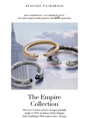 David Yurman - Proudly Made in NYC: New Empire Designs