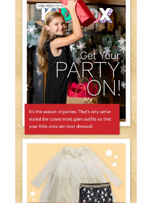 Holiday Party Outfits For Your Kids!