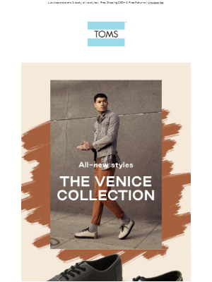 New to the Venice Collection