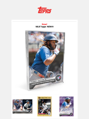 The Topps Company - Vlad Jr. hits his 40th homer of the year!