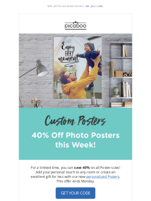 Picaboo - Save on Posters this week!