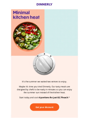 dinnerly - Tasty meals that save time and money