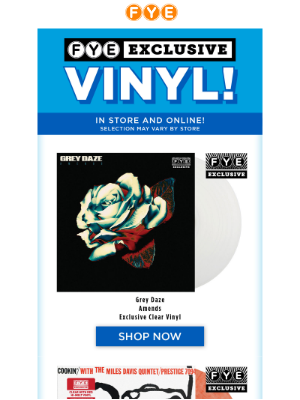 You NEED more Exclusive Vinyl for Your Collection 🎵
