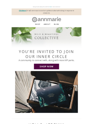 Annmarie Gianni Skin Care - Join our happy hour and e-meet our VIPs