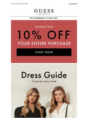 Dresses for Every Outing | Free Gift