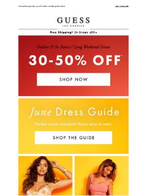 New Dresses + Long Weekend Sales 🙌