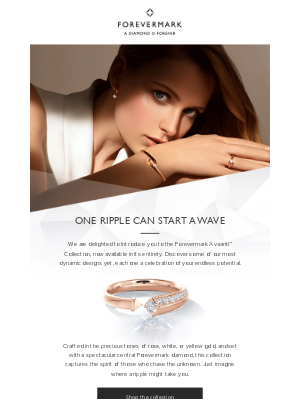 Forevermark - Shop the Forevermark Avaanti™ Collection – now available in full online
