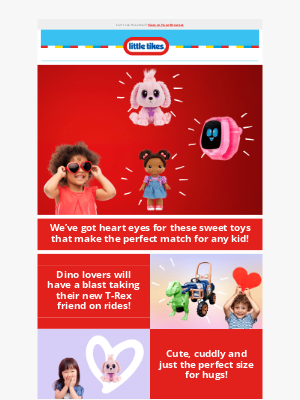 Little Tikes - 😍 Making a Perfect Valentine Match with Little Tikes! 💕
