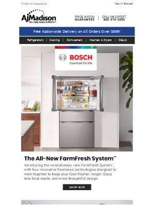 AJ Madison - Bosch - The More You Buy, The Bigger the Rebate
