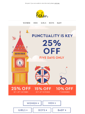 Boden USA - 25% OFF for a limited time