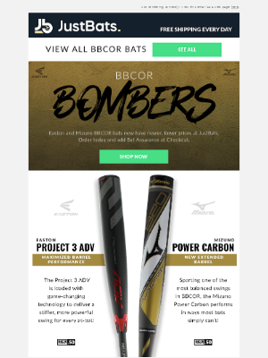 JustBats - 🚨 New BBCOR Prices 🚨
